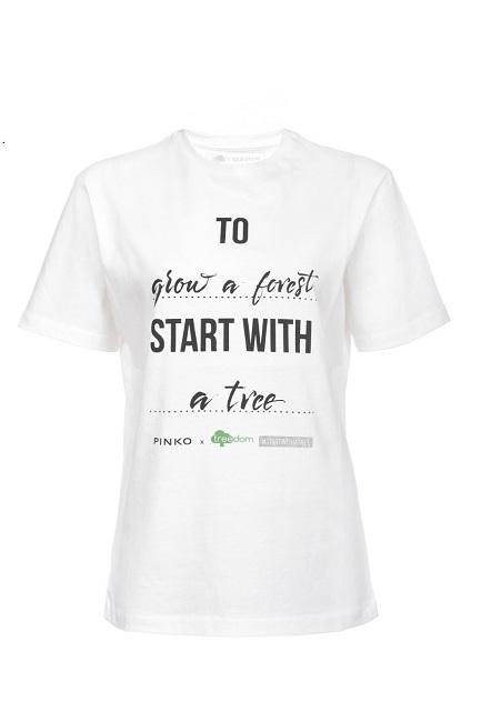 026f10554ca8 Η Pinko ανακοινώσει τη συνεργασία της με το Treedom. Πρόκειται για ένα  website που προσφέρει στους χρήστες τη δυνατότητα να φυτέψουν ένα δέντρο με  ένα κλικ ...