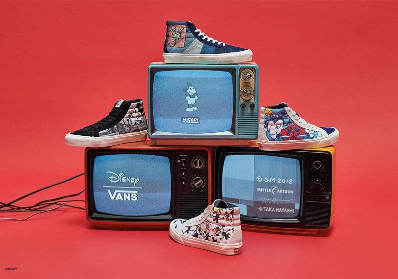 f1ca3e7985 Η Vans συνεργάζεται με την Disney για τη δημιουργία συλλογής για τον  εορτασμό των 90 χρόνων του Mickey Mouse. Για να τιμήσουν την επέτειο